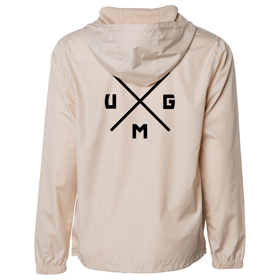 UMG Cross Heart Combo Lightweight Windbreaker