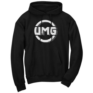 UMG Shutter FX Wht Hoodie - Blk - DISCOUNTED ITEM