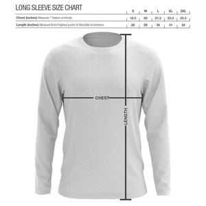 Graves Icon Long Sleeve - Gry on Nvy