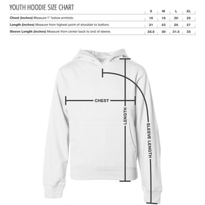 UMG Shutter FX Wht Youth Hoodie