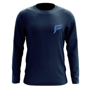 Felo Icon Heart FX Long Sleeve - Nvy