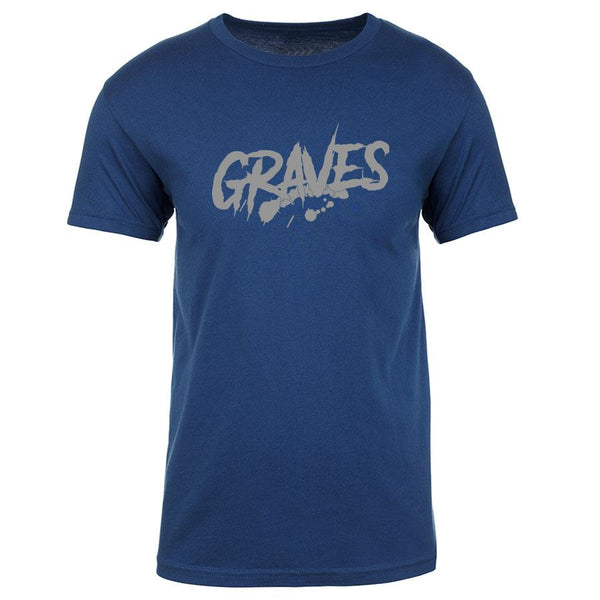 Graves Logo Short Sleeve - Gry on CBlu