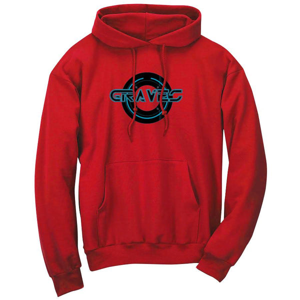 Graves Circle FX Hoodie - Red