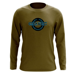 Graves Circle FX Long Sleeve - MGrn