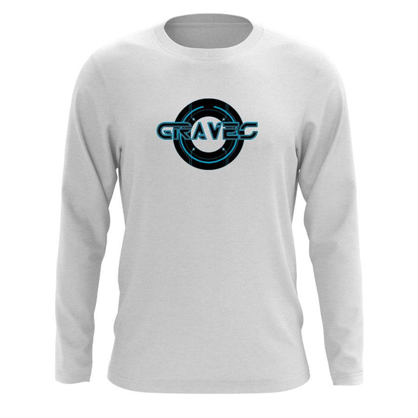 Graves Circle FX Long Sleeve - Wht