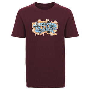 KOSDFF Graffiti FX OrgBlu Youth Short Sleeve