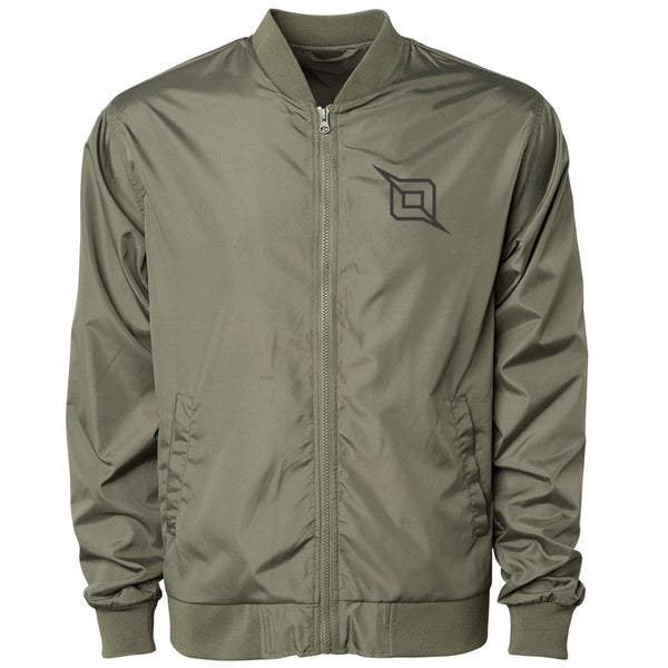 Octane Icon Bomber Jacket - DGry on MGrn