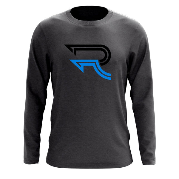 Replays DoubleUp Long Sleeve - BlkNBlu on Chcl