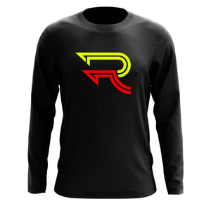 Replays DoubleUp Long Sleeve - NYelRed on Blk