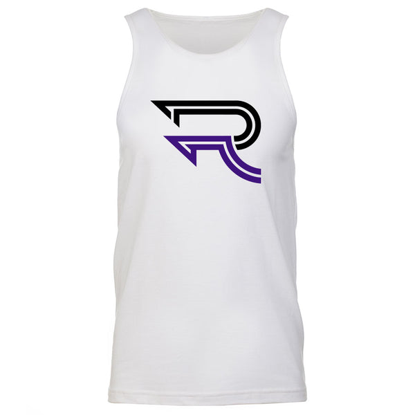 Replays DoubleUp Tank Top - BlkPrp on Wht