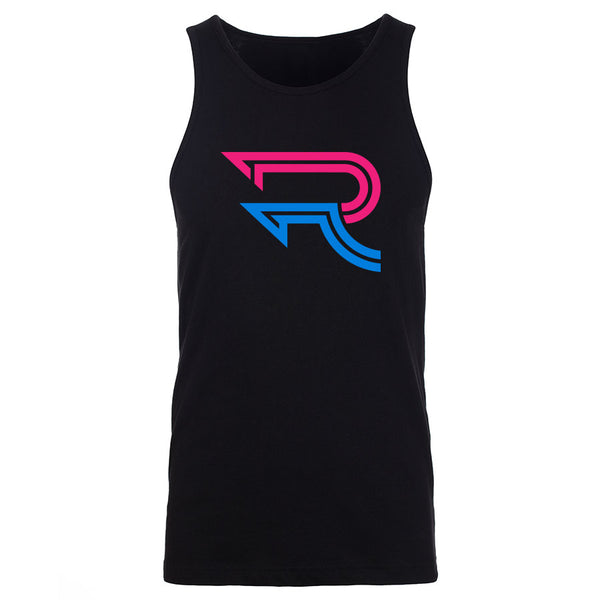 Replays DoubleUp Tank Top - NPnkNBlu on Blk
