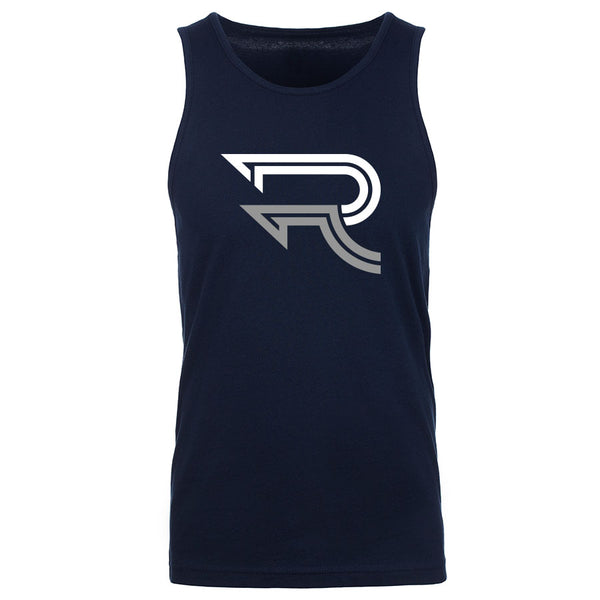 Replays DoubleUp Tank Top - WhtGry on Nvy