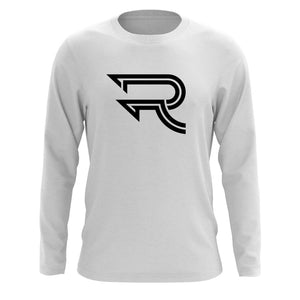 Replays Icon Long Sleeve - Blk on Wht