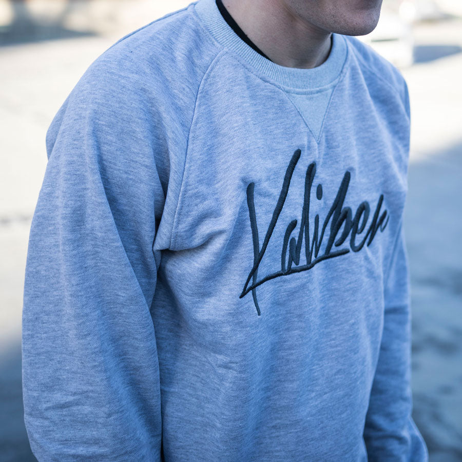 Team Kaliber Premium Label Embroidered Crewneck