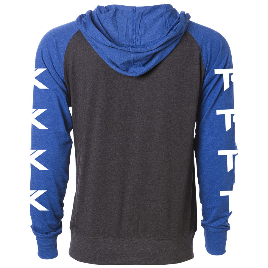 Team Kaliber Arc Heart Lightweight Raglan Zip Up Hoodie