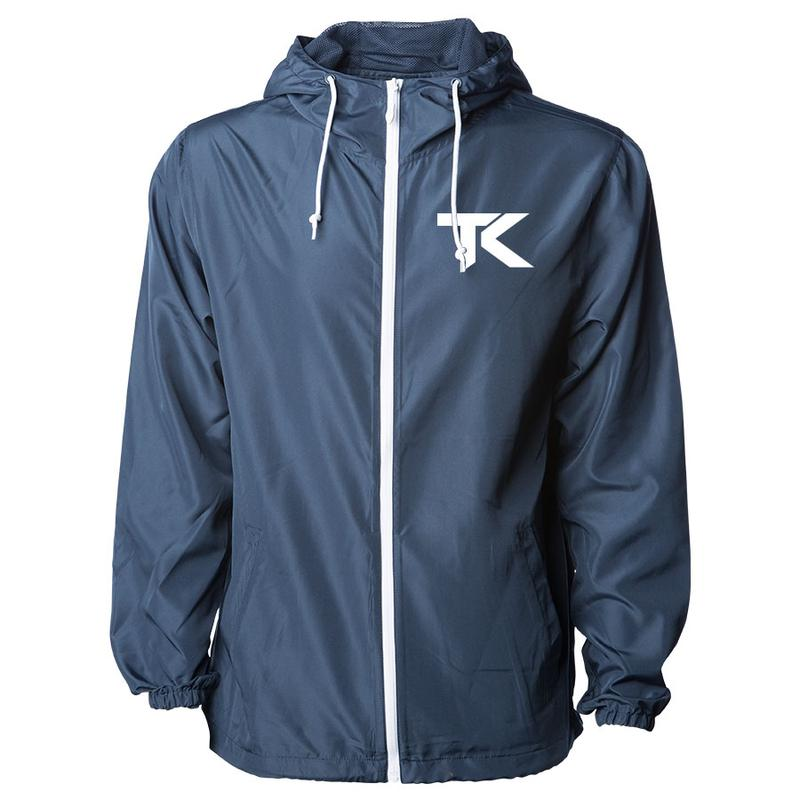 Team Kaliber TK Lightweight Windbreaker