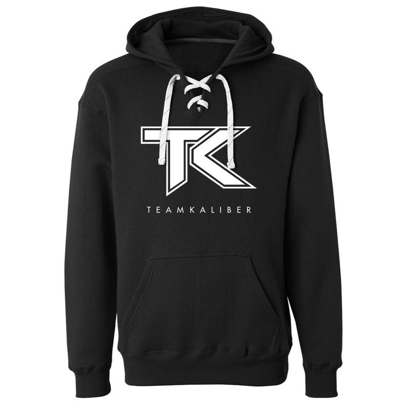 Team Kaliber Logo Lace Up Hoodie