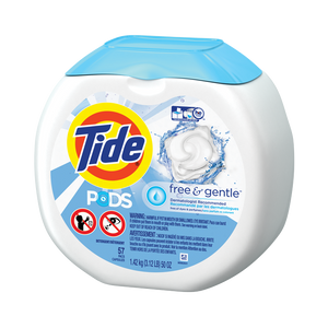 Tide PODS® Free & Gentle Laundry Detergent