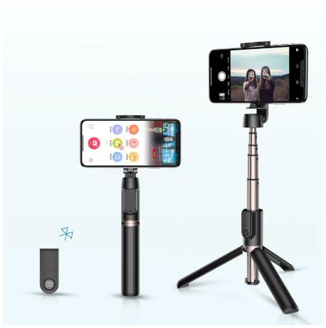 Bluetooth Selfie Stick Portable Handheld Tripod with Wireless Remote For iPhone Samsung Huawei Android