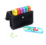 100% BPA-Free Pill Organizer Box Weekly Case