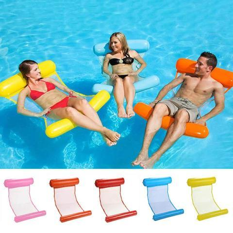 (50%  off)Inflatable Swimming Floating Hammock