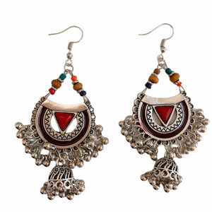 Zimal Tribal Earrings