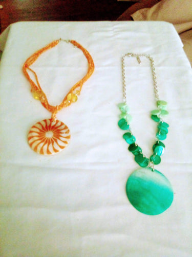 2 dressy necklaces - B&P'sringsnthings
