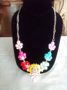 A beautiful and colorful necklace - B&P'sringsnthings