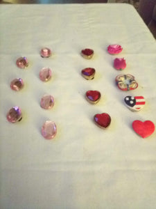 A lot of button covers - B&P'sringsnthings