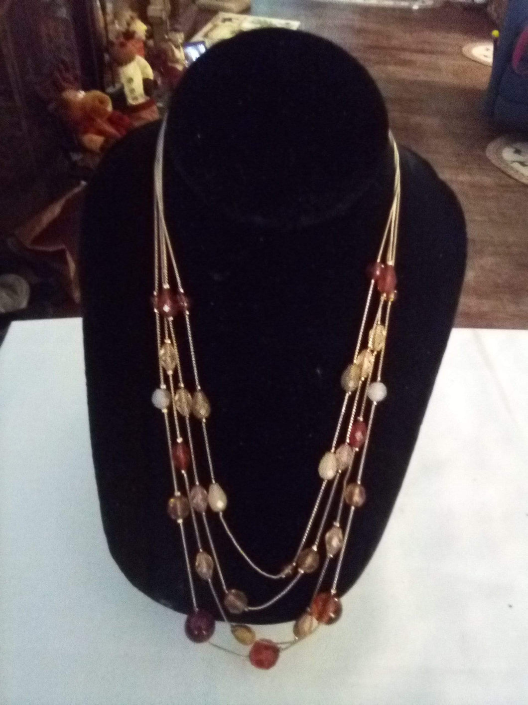 Attractive multi tier necklace - B&P'sringsnthings