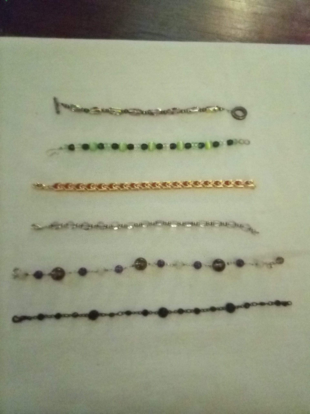 Beautiful beaded and colorful bracelet lot - B&P'sringsnthings