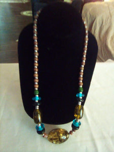 Beautiful costume jewelry necklace - B&P'sringsnthings