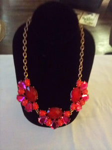 Colorful and dressy necklace - B&P'sringsnthings