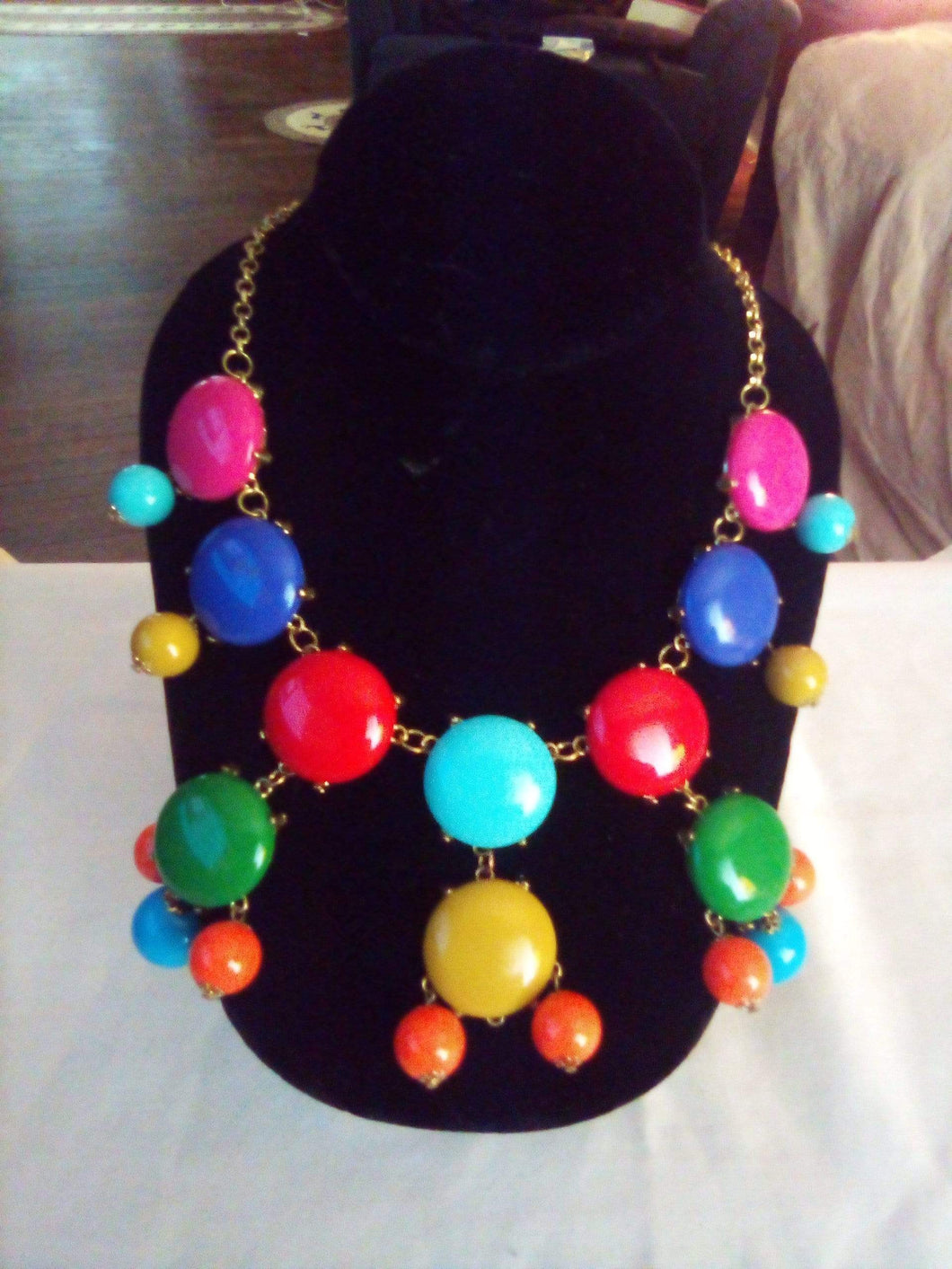 Colorful dressy necklace - B&P'sringsnthings