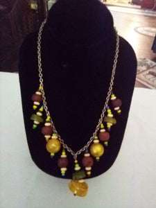 Colorful nice necklace - B&P'sringsnthings