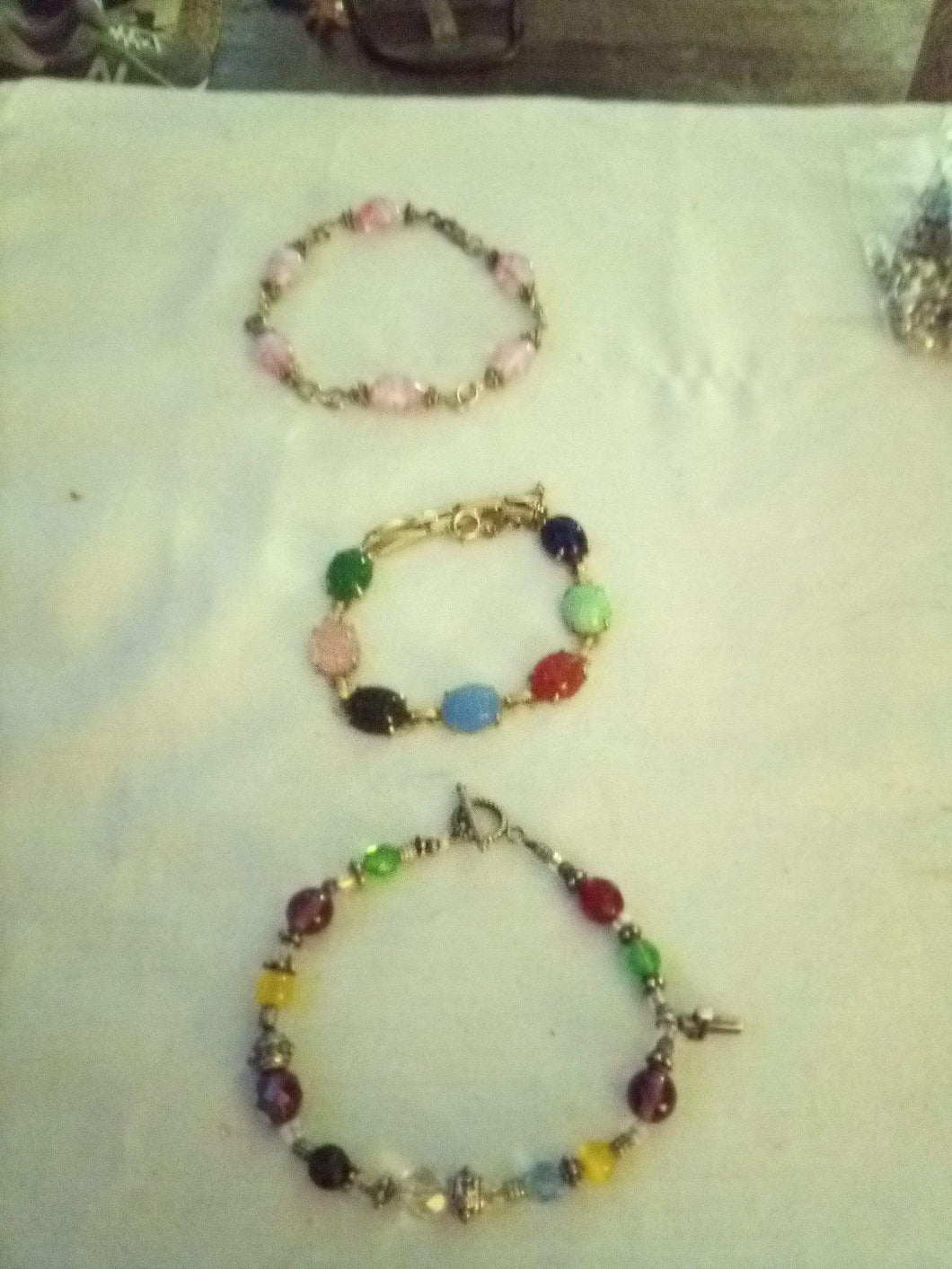 Creative and colorful 3 bracelet lot - B&P'sringsnthings