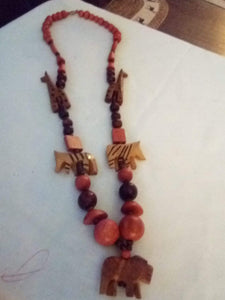Creative wooden necklace - B&P'sringsnthings