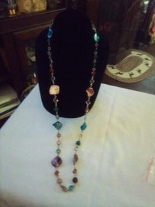 Dressy and colorful necklace - B&P'sringsnthings