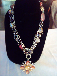 Dressy bright necklace - B&P'sringsnthings