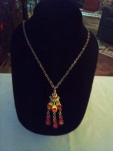 Dressy necklace with pendent - B&P'sringsnthings
