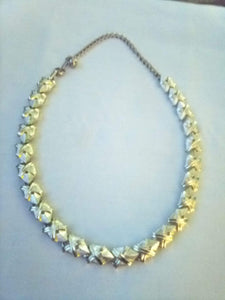Dressy silver tone necklace - B&P'sringsnthings