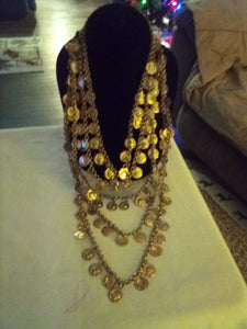 Heavy multi layered necklace - B&P'sringsnthings