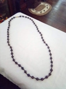 Long casual beaded necklace with tiny dividers - B&P'sringsnthings