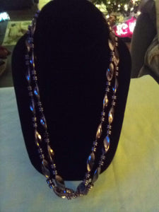 Long decorative necklace - B&P'sringsnthings