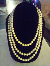Load image into Gallery viewer, Long white necklace - B&P'sringsnthings