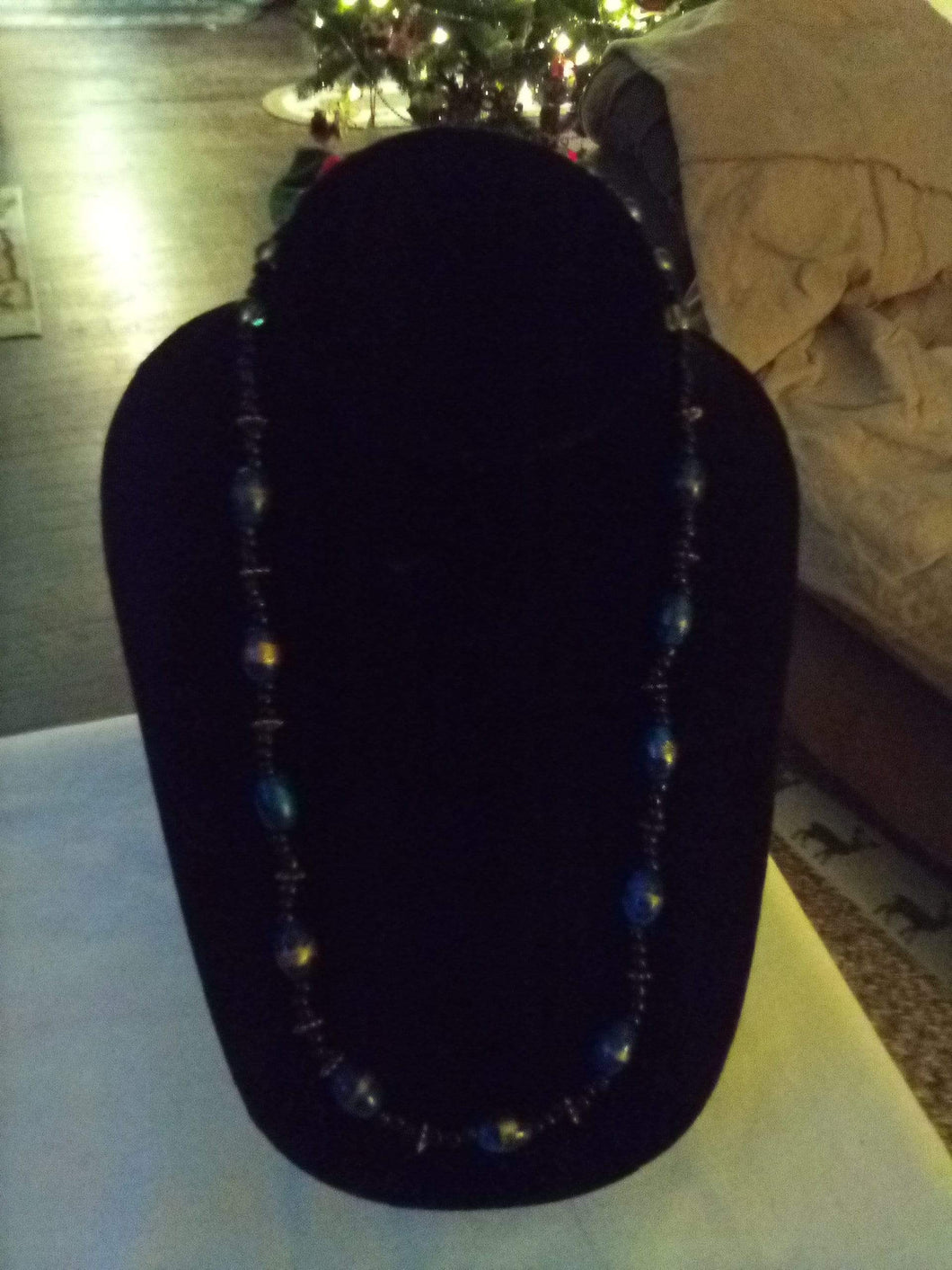 Neat beaded necklace - B&P'sringsnthings