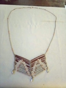 New dressy long necklace - B&P'sringsnthings
