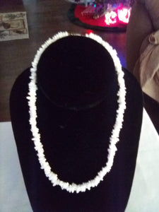Puca shell white necklace - B&P'sringsnthings