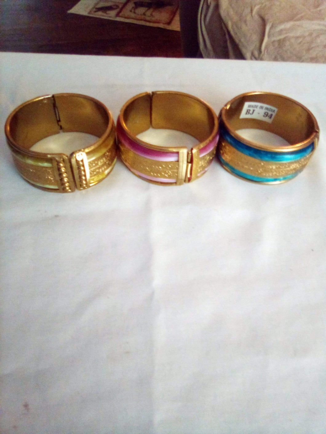 Three made in India bracelets. - B&P'sringsnthings