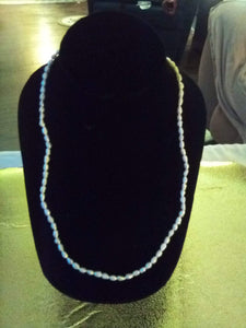 Tiny seed pearl like necklace - B&P'sringsnthings